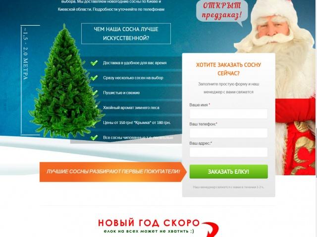 Новогодние елки под заказ в Киеве