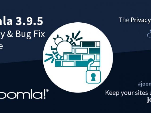 Вышло обновление Joomla 3.9.5